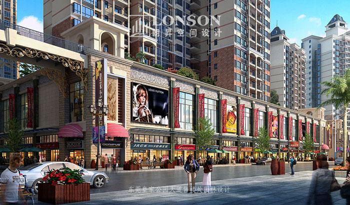 图十四:南宁国际花都商业街设计四图片